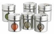 Home Made Kitchen Craft Spice Jars, Set of 6