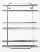 Chrome Wall Mounted Spice Rack