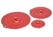 Norpro 413 Silicone Universal Suction Lids, 3-Piece Set