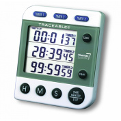 Thomas 5008 Traceable Three-Alarm Timer, 0.01 Percent Accuracy, 5.1cm Width x 3-0.6cm Height x 1.3cm Depth