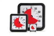 Time Timer Audible Countdown Timer - 7.6cm - Black