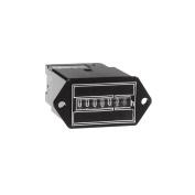 Intermatic FWZ53-24U Combo Quick Connect And Screw Terminals, 24v, 60hz AC Hour Metres Flush Mount