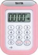TANITA Washing-whole timer TD-378-PK (Pink) 100-minute metre