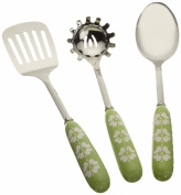 DII Leaf Green Ceramic Serving Utensils