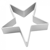 Amico Xmas DIY Cookie Biscuit Baking Five Pointed Star Metal Cutter Mould