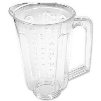 Plastic 1300ml jar fits most Hamilton Beach domestic models.