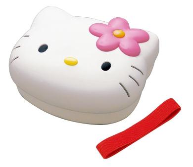 Sanrio Hello Kitty Face Shaped Bento Box
