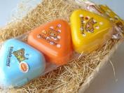 Rilakkuma ONIGIRI CASE SET (3Pcs) | Rice Ball Case | LS-2