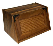 Mountain Woods Acacia Antique Style Bread Box