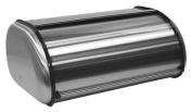 ZUCCOR Fingerprint-Proof Brushed Stainless Steel Large Bread Box