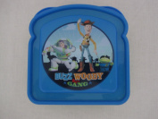 Toy Story Bread Shaped Container - Green & Blue