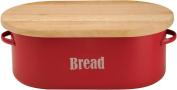 Typhoon Vintage Kit Bread Bin, Red