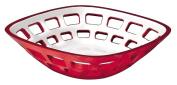 Guzzini Vintage Bread Basket in Red
