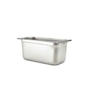 Browne Foodservice 98194 25-Gauge One-Ninth Stainless Steel Anti-Jam Steam Pan, 10.2cm