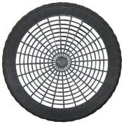 Plastic 22.9cm Paper Plate Holders in Black Maryland Plastics 4 per Pack