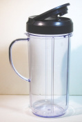 Magic Bullet On The Go Mug with Flip Top Travel Lid