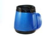 20oz. Foam Insulated Wide Body ThermoServ Mug - Blue