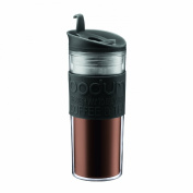 Bodum Insulated Plastic Travel Mug, 0.45-Litre, 440ml, Black