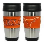 Texas Longhorns Stainless Steel Insulated Travel Tumbler Mug 440ml