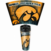 NCAA Iowa Hawkeyes 470ml Travel Mug