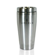Lincoln Brushed Stainless Steel Travel Mug