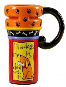 It's A Dogs Life Deal With it Coffee Travel Mug