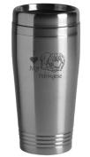 16-ounce Stainless Travel Mug - I Love My Pekingese