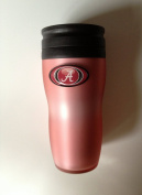 Alabama Crimson Tide Pink Soft Touch Travel Tumbler 470ml