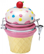 Boston Warehouse Ice Cream Social Hinged Jar