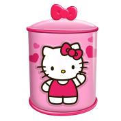 Vandor LLC 18141 Hello Kitty Cupcake Ceramic Cylinder Cookie Jar, Multicoloured