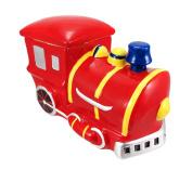 Train Engine Ceramic Cookie Jar Locomotive