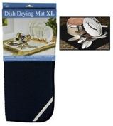 Envision Home Dish Drying Mat - 18 . 24 - Black