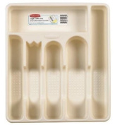 Rubbermaid Home Large Cutlery Tray, Bisque