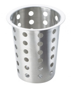 Cal-Mil 1017-39 Perforated Stainless Steel Cylinder