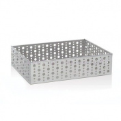 Stainless Steel Dots Rectangle Holder