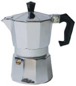 Home Basics Espresso Maker, 3-Cup