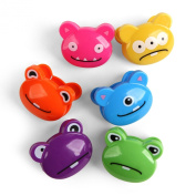 Bag clips set of 6 - CUTE MONSTERS