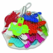 DCI Bird Clips, Assorted Colours, Set of 16