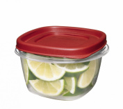 Rubbermaid 7J60 Easy Find Lid Square 2-Cup Food Storage Container