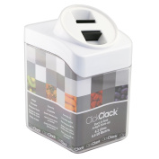 ClickClack 4.2l Stack and Seal Store All Canister