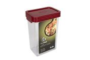 Click Clack Kitchen Essentials 1.2l Airtight Container, Red Lid