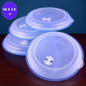 MICROWAVE DIVIDED PLATES WITH VENTED LIDS -