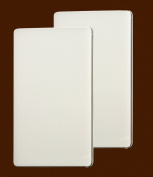 Set 2 Rectangle Stove Top Burner Covers- Beige Colour