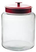Anchor Hocking Montana 7.6l Jar, Red Metal Lid