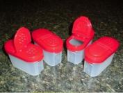 Kitchenware Small SPICE Modular Mates SET NEW Red Seals