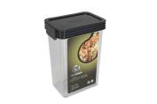 Click Clack Kitchen Essentials 1.2l Airtight Container, Charcoal Lid