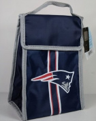 NFL New England Patriots hook and loop Lunch Bag