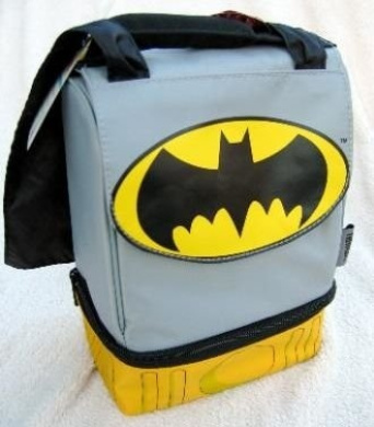 Batman With Cape - Dual Compartment Lunch bag