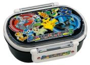 Japanese Licenced Pokemon Microwavable Bento Lunch Box Black