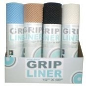 One Roll of Grip Shelf/Drawer Liner 30.5cm x 152.4cm Assorted Colours